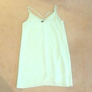Women's teal dress